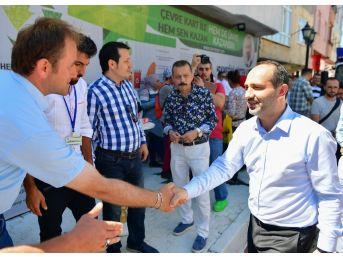 'ekmeğini Çöpten Kazan' Projesine Yoğun İlgi