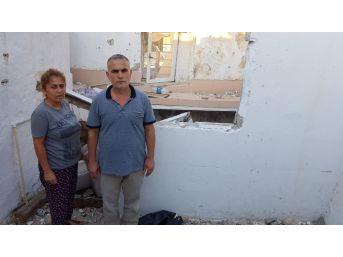Fırtınada Evleri Yıkılan Aile Uzanacak Yardım Elini Bekliyor
