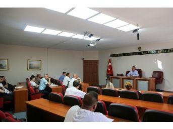 Sapanca Belediyesi Daire Müdürleri Toplandı