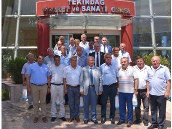Tekirdağ Büyükşehir Belediyesi Bilgilendirme Toplantısı Yaptı