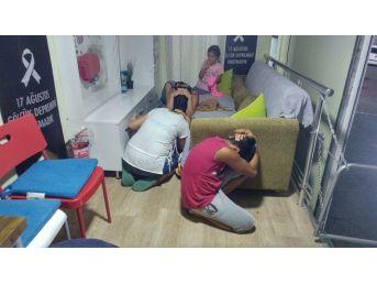 Tekirdağ'da Vatandaşlara Deprem Eğitimi Verildi
