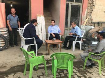 Kaymakam Özcan, Esnaf Ziyaretinde