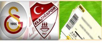 Galatasaray Elazığspor maç biletleri açıklandı