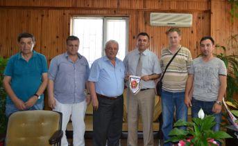 EGD Türk Metal Sendikasını ve vergi dairesini ziyaret etti