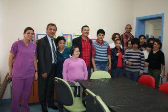 MİTSO rehabilitasyon merkezindeki çocukları sevindirdi