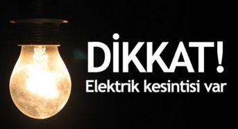 Elazığ'da Elektrik Kesintisi